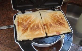 Crepe suíço de sanduicheira