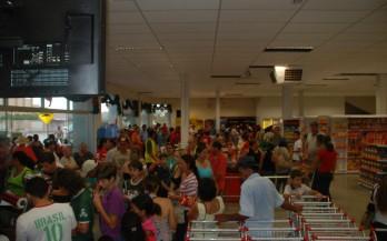 Reinauguração do Super Mercado 20/12/2012